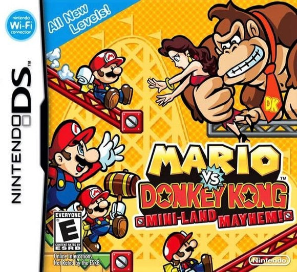 Mario vs. Donkey Kong Mini-Land Mayhem Nintendo DS Game - Gandorion Games