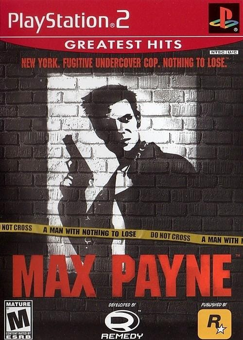Max Payne (Greatest Hits) Sony PlayStation 2 Game PS2 - Gandorion Games