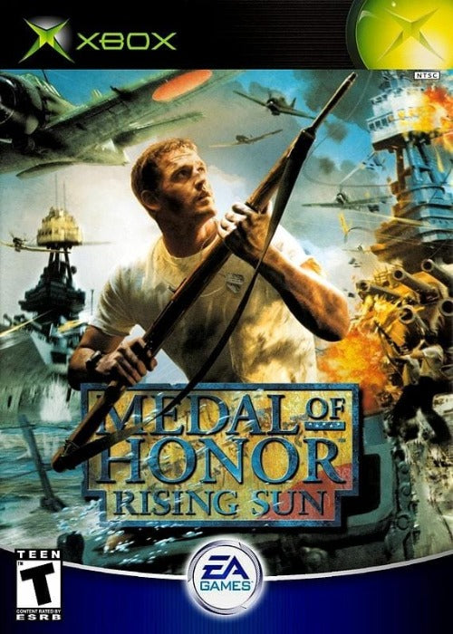 Medal Of Honor Rising Sun Microsoft Xbox - Gandorion Games