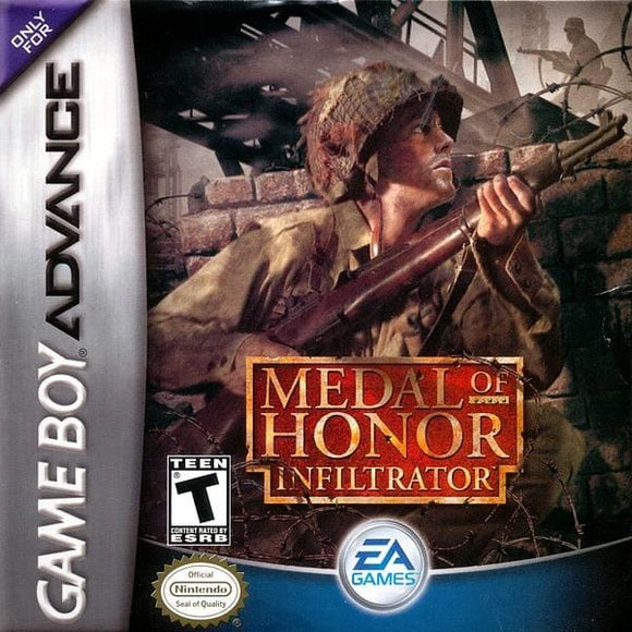 Medal of Honor Infiltrator Nintendo Game Boy Advance Game - Gandorion Games