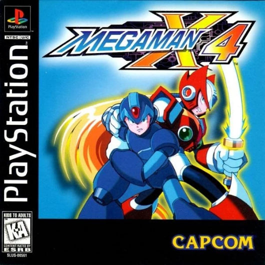 Mega Man X4 PlayStation Game - Gandorion Games