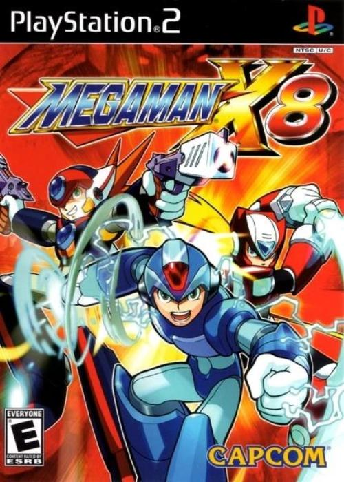 Mega Man X8 Sony PlayStation 2 Game - Gandorion Games