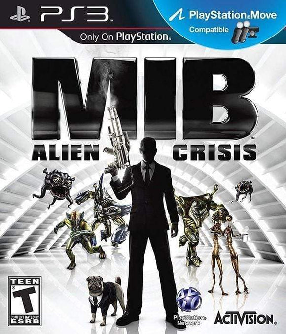 Men in Black Alien Crisis Sony PlayStation 3 - Gandorion Games