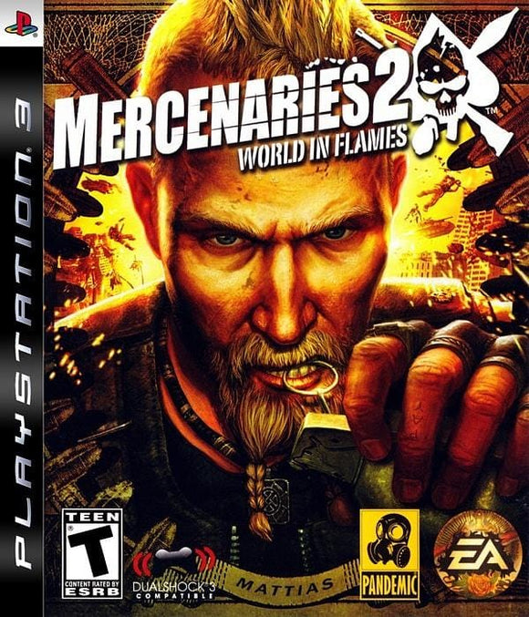 Mercenaries 2 World in Flames PlayStation 3 - Gandorion Games