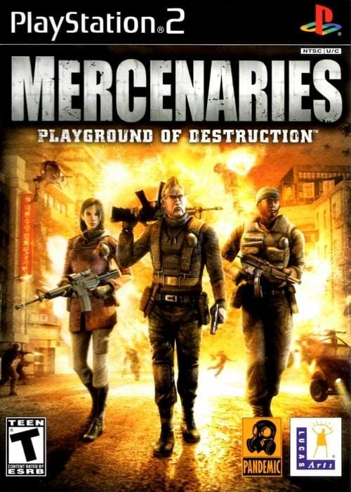 Mercenaries Playground of Destruction Sony PlayStation 2 - Gandorion Games