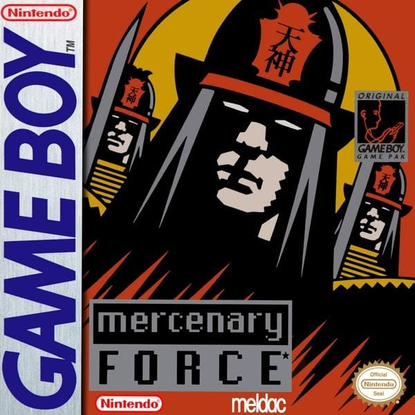 Mercenary Force - Nintendo Game Boy - Gandorion Games