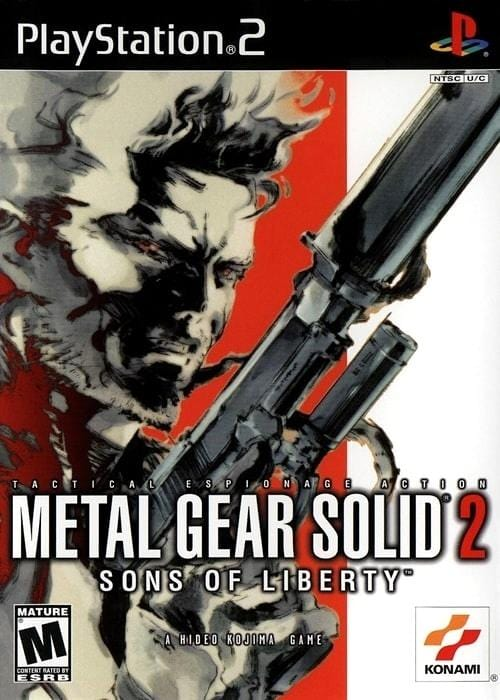 Metal Gear Solid 2 Sons of Liberty Sony PlayStation 2 Game - Gandorion Games