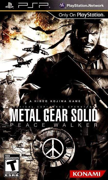 Metal Gear Solid Peace Walker Sony PSP - Gandorion Games