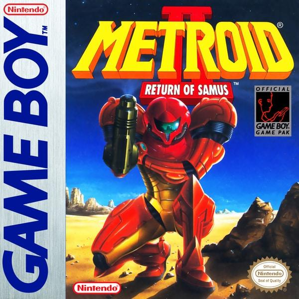 Metroid II Return of Samus - Nintendo Game Boy - Gandorion Games