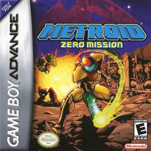 Metroid Zero Mission Nintendo Game Boy Advance - Gandorion Games