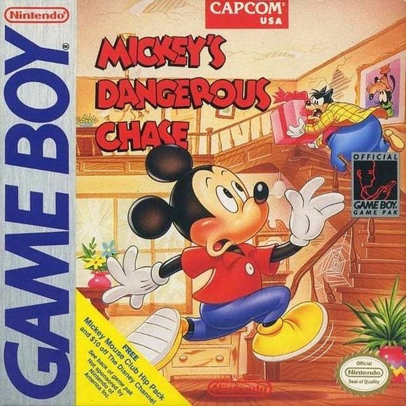 Mickey's Dangerous Chase - Nintendo Game Boy - Gandorion Games