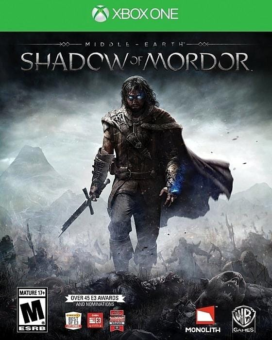 Middle-Earth Shadow of Mordor Microsoft Xbox One Game - Gandorion Games
