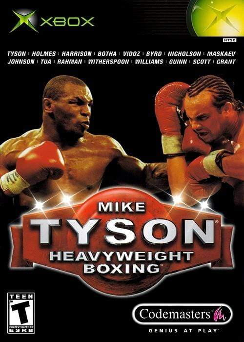Mike Tyson Heavyweight Boxing Microsoft Xbox Game - Gandorion Games