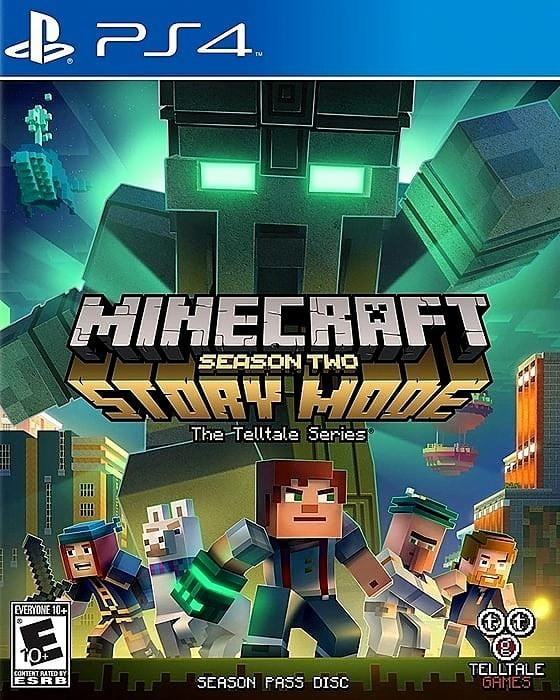 Minecraft Story Mode - Season Two The Telltale Series Sony PlayStation 4 - Gandorion Games