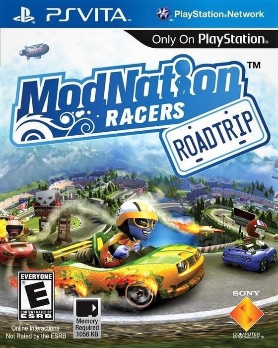ModNation Racers Road Trip Sony PlayStation Vita - Gandorion Games