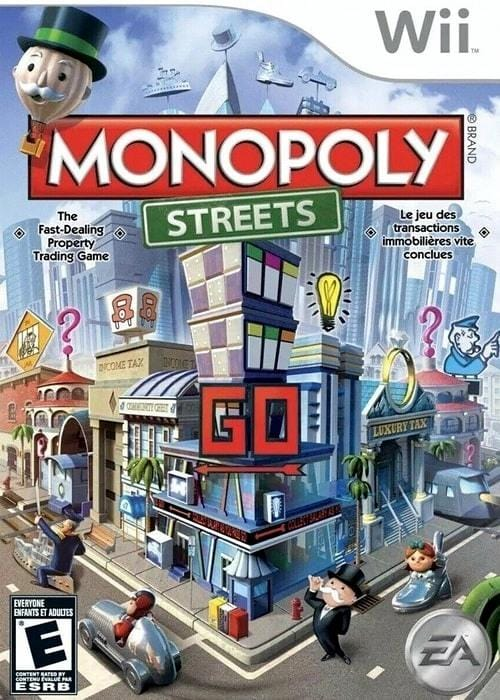Monopoly Streets Nintendo Wii Game - Gandorion Games