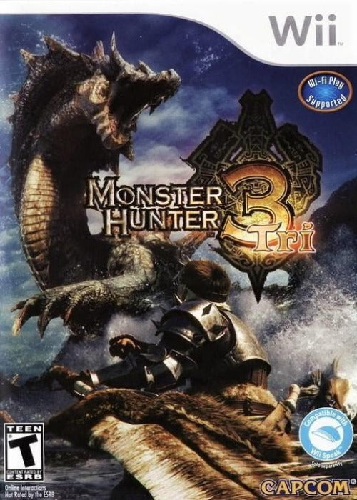 Monster Hunter Tri Nintendo Wii Game - Gandorion Games