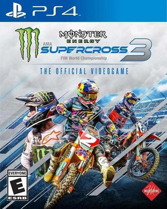 Monster Energy Supercross 3 The Official Videogame - Sony Playstation 4 Game - Gandorion Games