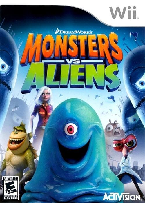 Monsters vs. Aliens Nintendo Wii - Gandorion Games