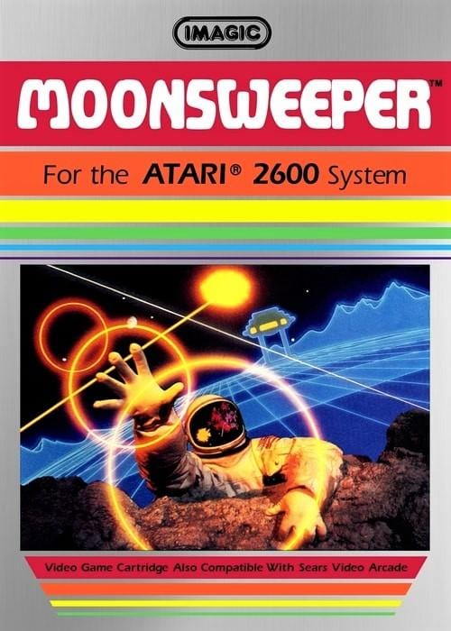 Moonsweeper Atari 2600 Game - Gandorion Games
