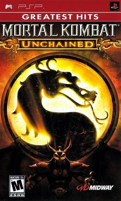 Mortal Kombat Unchained (Greatest Hits) Sony PSP - Gandorion Games