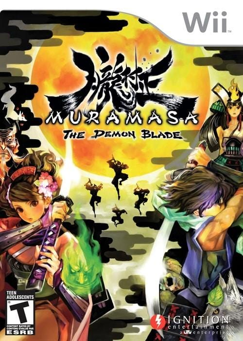 Muramasa The Demon Blade Nintendo Wii Game - Gandorion Games