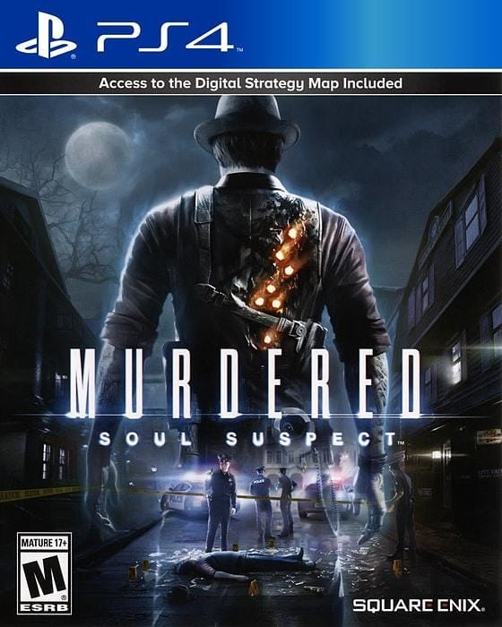 Murdered Soul Suspect PlayStation 4 - Gandorion Games