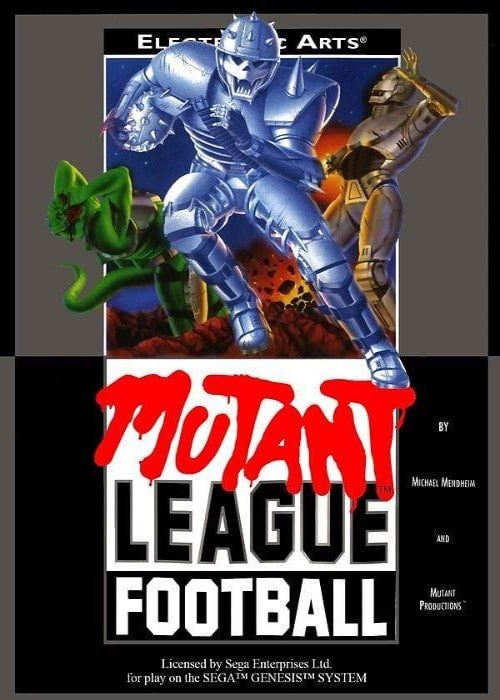 Mutant League Football Sega Genesis Game - Gandorion Games