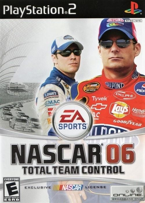 NASCAR 06 Total Team Control Sony PlayStation 2 Game - Gandorion Games