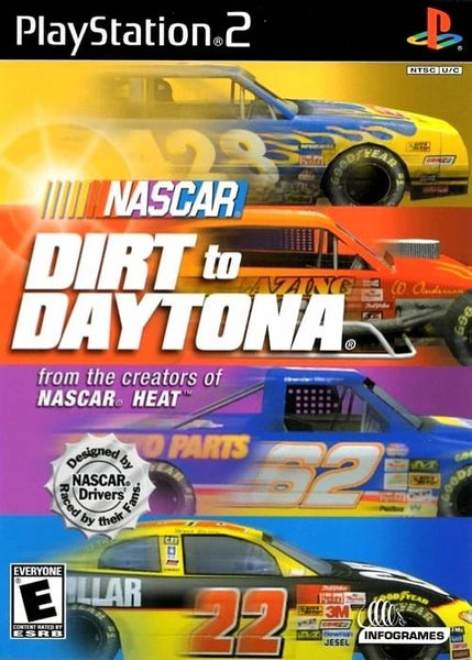 NASCAR Dirt to Daytona Sony PlayStation 2 Game - Gandorion Games
