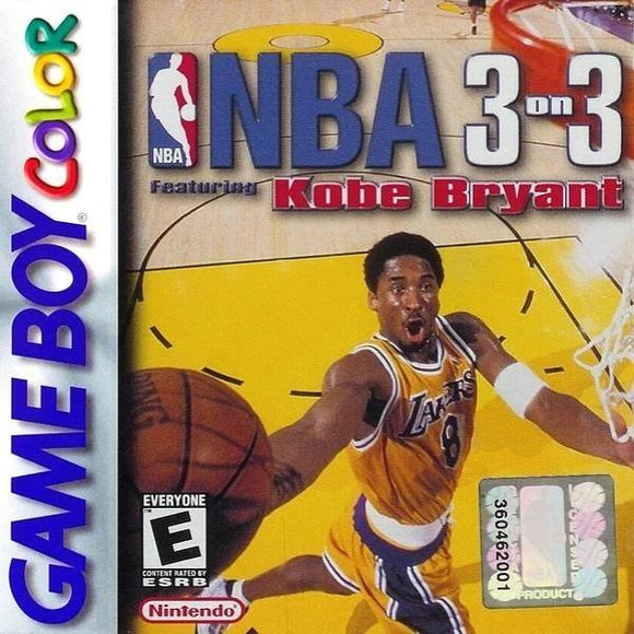 NBA 3 on 3 Featuring Kobe Bryant Nintendo Game Boy Color - Gandorion Games