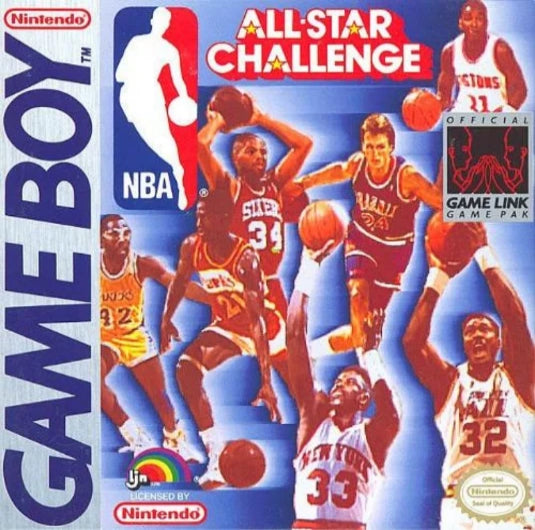 NBA All-Star Challenge Nintendo Game Boy - Gandorion Games