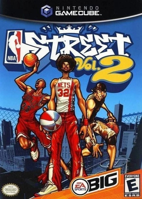 NBA Street Vol 2 Nintendo GameCube Game - Gandorion Games