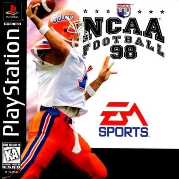 NCAA Football 98 Sony PlayStation - Gandorion Games