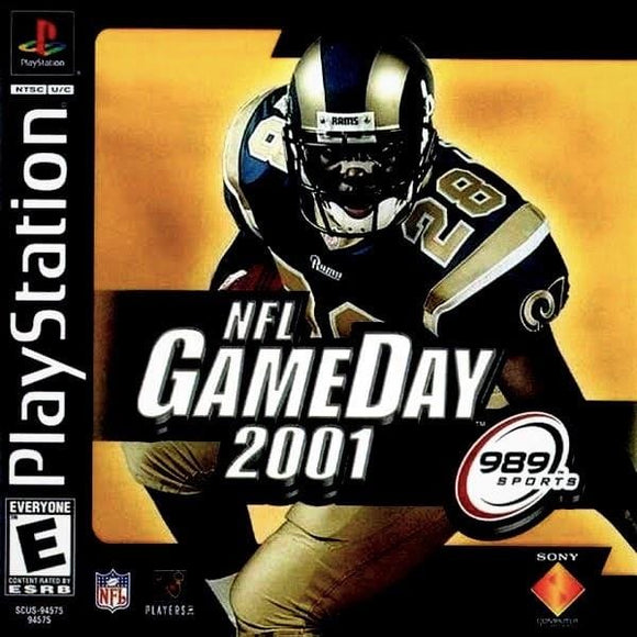 NFL GameDay 2001 Sony PlayStation - Gandorion Games