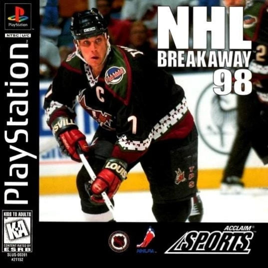 NHL Breakaway 98 Sony Playstation - Gandorion Games