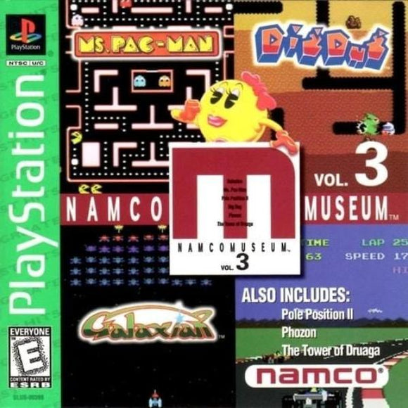 Namco Museum Volume 3 Greatest Hits Sony PlayStation Game - Gandorion Games