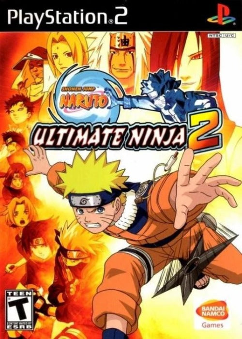 Naruto Ultimate Ninja 2 PlayStation 2 Gandorion Games