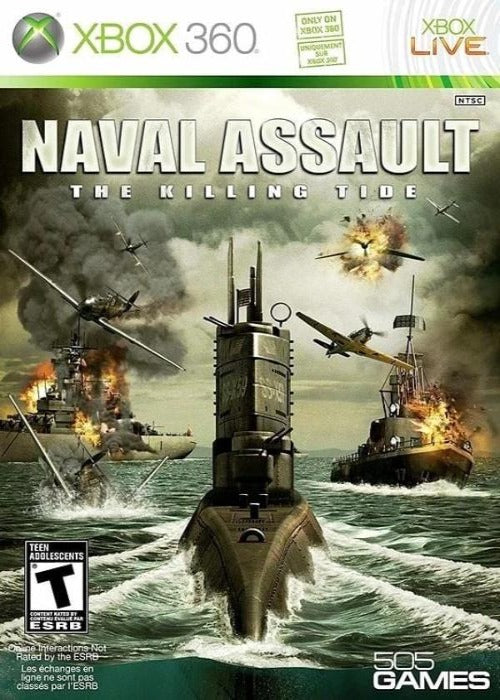 Naval Assault The Killing Tide Xbox 360 - Gandorion Games