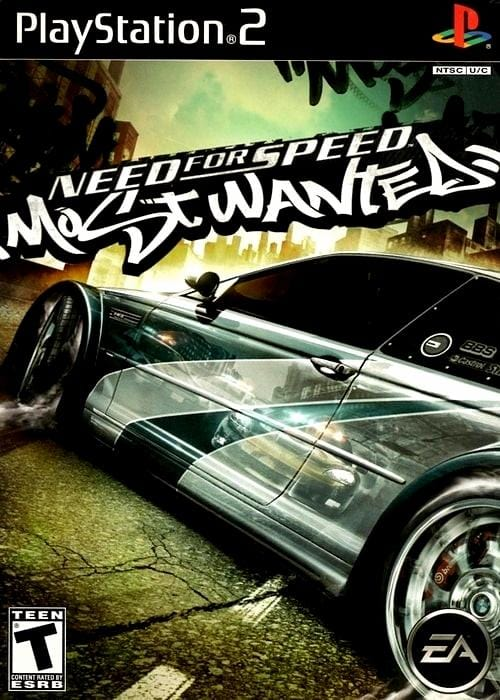 Need for Speed Most Wanted Sony PlayStation 2 Game - Gandorion Games