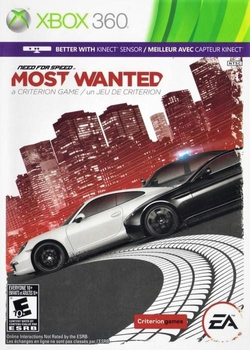 Need for Speed Most Wanted - Microsoft Xbox 360