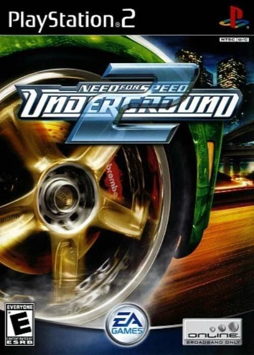 Need for Speed: Underground 2 Sony PlayStation 2 Game - Gandorion Games