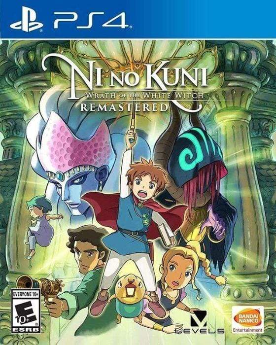 Ni no Kuni Wrath of the White Witch Remastered Sony PlayStation 4 - Gandorion Games