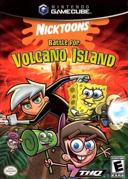 NickToons Battle for Volcano Island Nintendo GameCube - Gandorion Games
