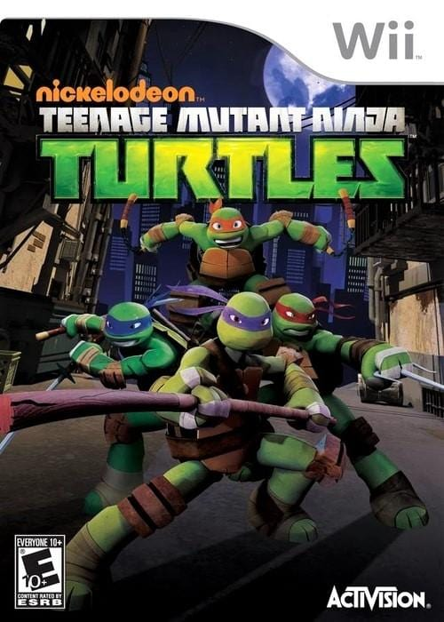 Nickelodeon Teenage Mutant Ninja Turtles Nintendo Wii Game - Gandorion Games