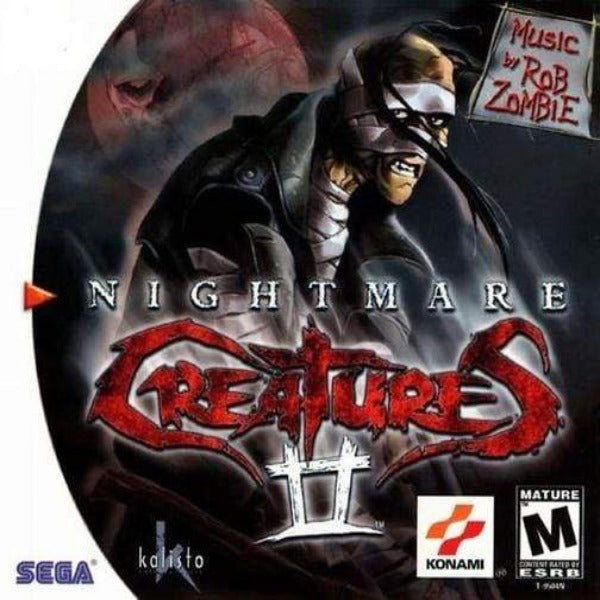 Nightmare Creatures II Sega Dreamcast Game - Gandorion Games