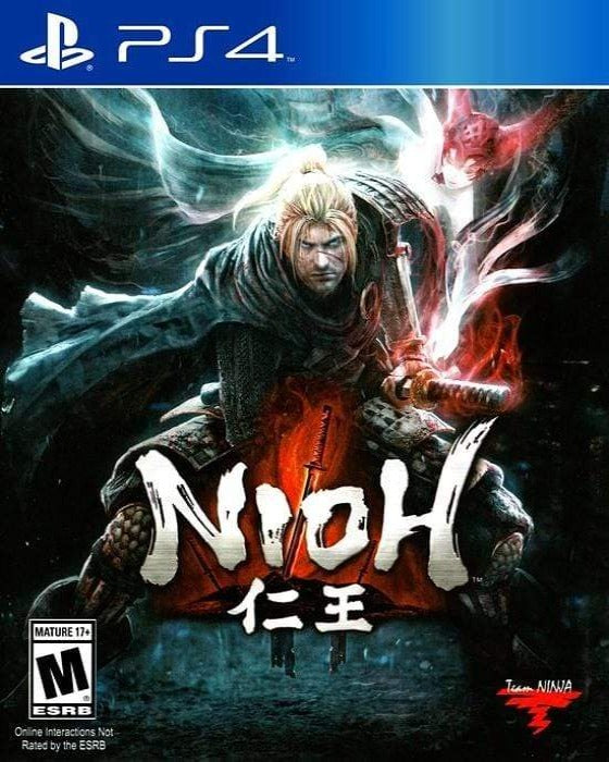 Nioh Sony - Sony PlayStation 4 - Gandorion Games