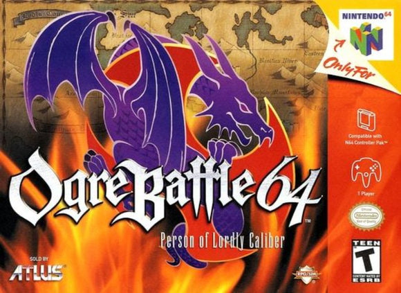 Ogre Battle 64 Person of Lordly Caliber Nintendo 64 - Gandorion Games