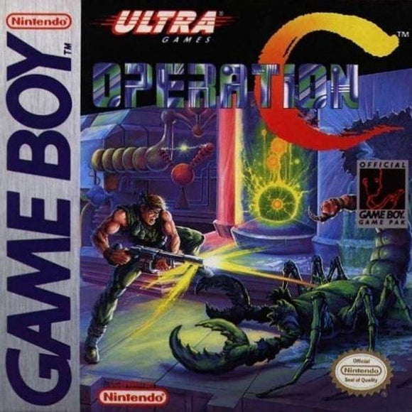 Operation C Nintendo Game Boy - Gandorion Games