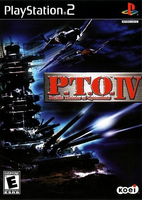P.T.O. IV Pacific Theater Of Operations Sony Playstation 2 - Gandorion Games